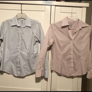 Brooks brothers button down blouses